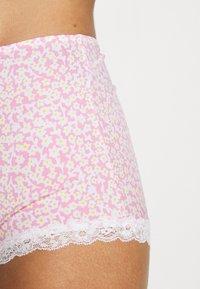Monki - LINNEA BRA TINY DAISY PRINT SET - Underbukse - pink - 5
