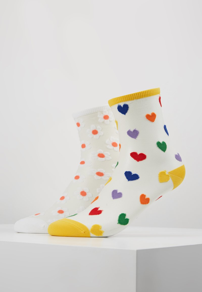 Monki - TINNA SHEER 2 PACK - Ponožky - multi-coloured