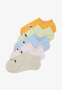Monki - MIXED SNEAKER SOCKS 5 PACK - Enkelsokken - multi-coloured - 1