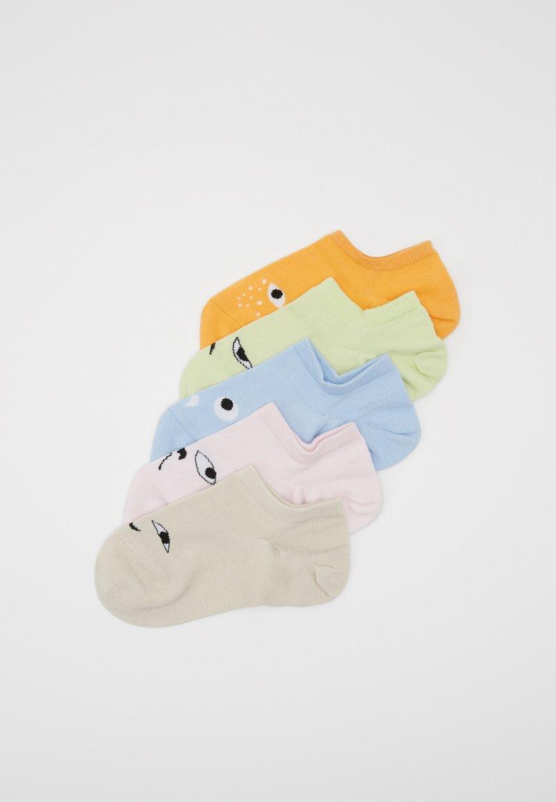 Monki - MIXED SNEAKER SOCKS 5 PACK - Enkelsokken - multi-coloured