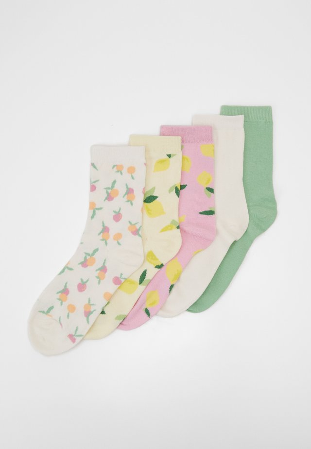 POLLY SOCKS 5 PACK - Socks - multicoloured