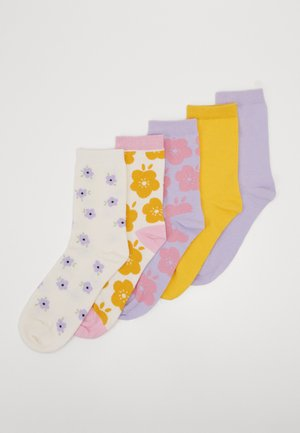 POLLY SOCKS 5 PACK - Socks - multi-coloured