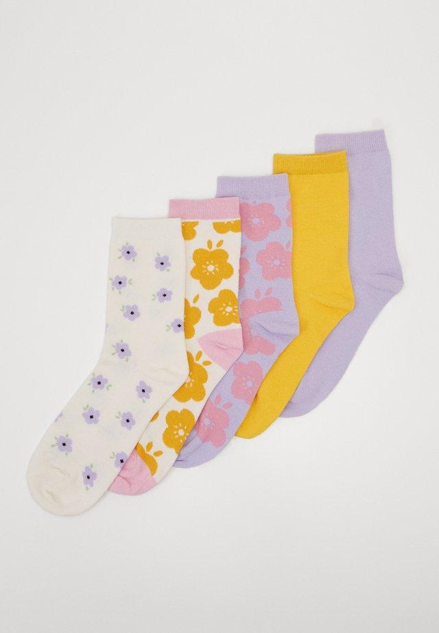 POLLY SOCKS 5 PACK - Skarpety - multi-coloured