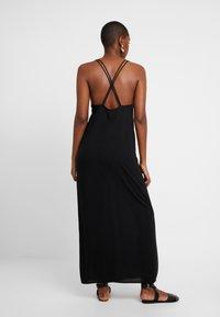 Monki - ANNA DRESS DROP - Strandaccessoire - black - 2