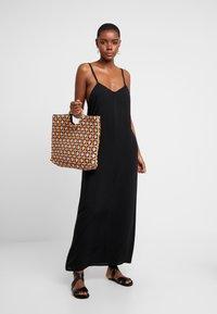 Monki - ANNA DRESS DROP - Strandaccessoire - black - 1