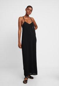 Monki - ANNA DRESS DROP - Strandaccessoire - black - 0