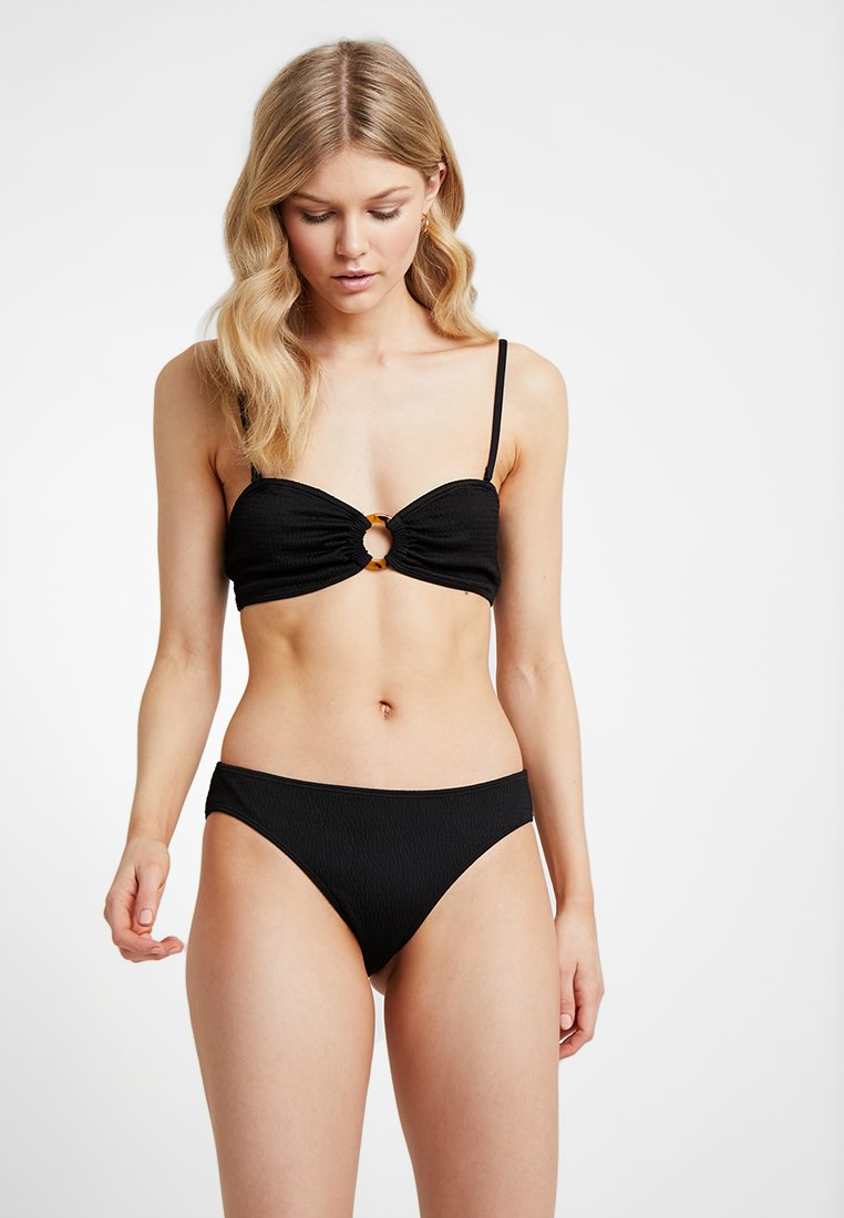 Monki - KATRIN SMOCK BRA MIKA SMOCK BRIEF SET - Bikiny - black