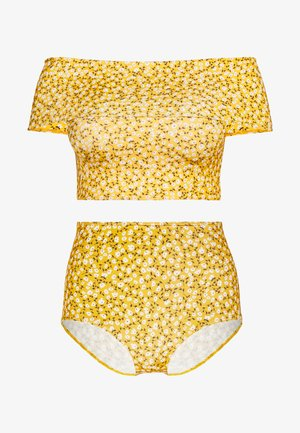 MAJA TOP NILLA HIGHWAIST SET - Bikini - yellow