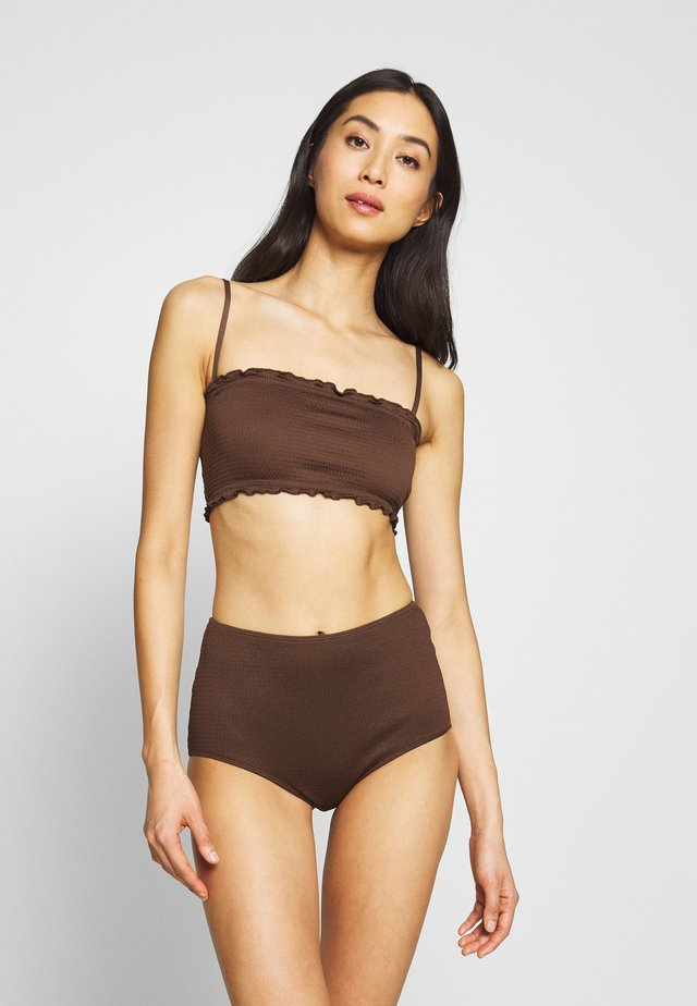 PAULINE AND GETRUDE BIKINI SET - Bikinier - brown