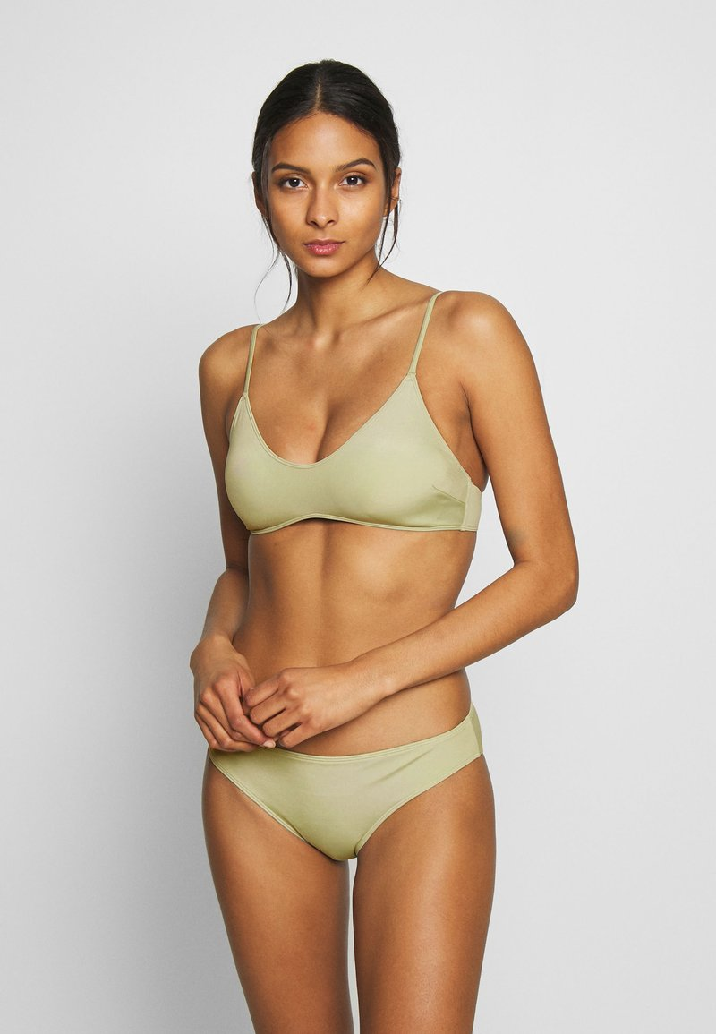 Monki - AZAMI BRA AND MIKA BRIEF SET - Bikini - green