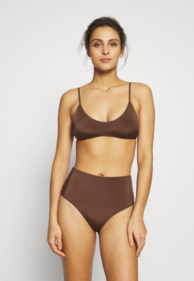 AZAMI CECILE SET - Bikini - brown dark
