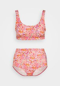 Monki - NILLA SET - Bikini - multicoloured/redmedow - 0