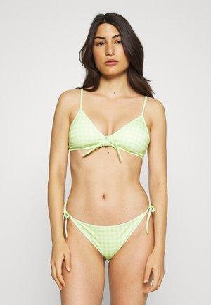 GINGHAM BIKINI SET - Bikini - green/white