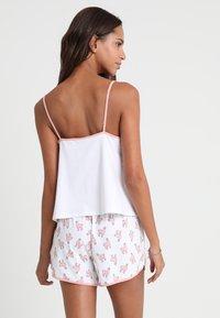 Monki - TANYA SET - Pyjama - white/pink - 2
