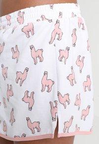Monki - TANYA SET - Pyjama - white/pink - 5