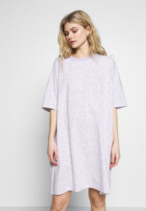 TOONIE - Nightie - tiny daisy lilac/white/black