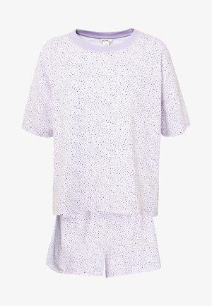 TOVA SET - Pyjama - lilac/white/black