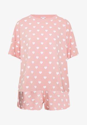 TOVA SET - Pyžamová sada - pink/white