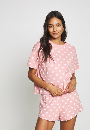 TOVA SET - Pyjamas - pink/white