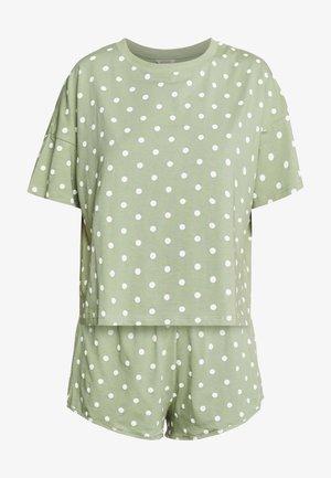 TOVA SET - Pyjamas - green dusty light paris