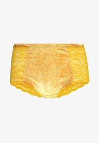Monki - OMA HIGHTWAIST - Culotte - yellow - 3