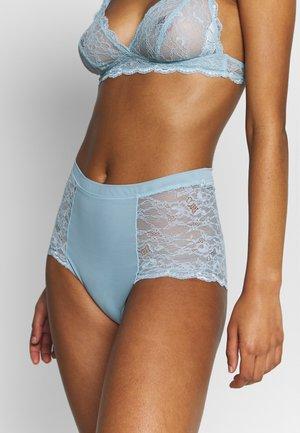 OMA HIGHT WAIST - Kalhotky/slipy - turquoise