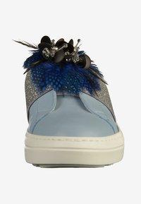 Mot-clé - Pantolette flach - sky blue - 5