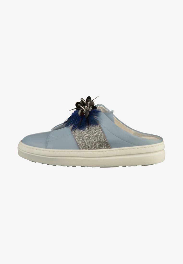 Mot-clé - Pantolette flach - sky blue
