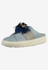 Mot-clé - Pantolette flach - sky blue - 2