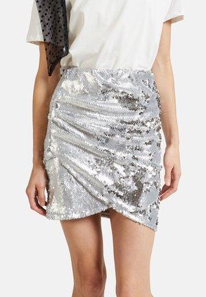 Falda cruzada - grey