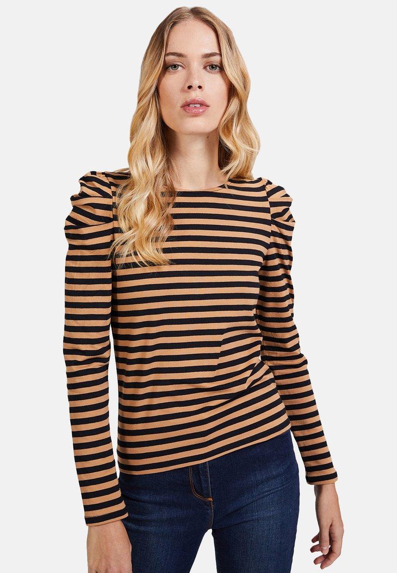 Motivi - Long sleeved top - brown