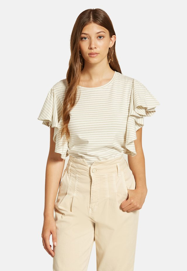 T-shirt con stampa - bianco