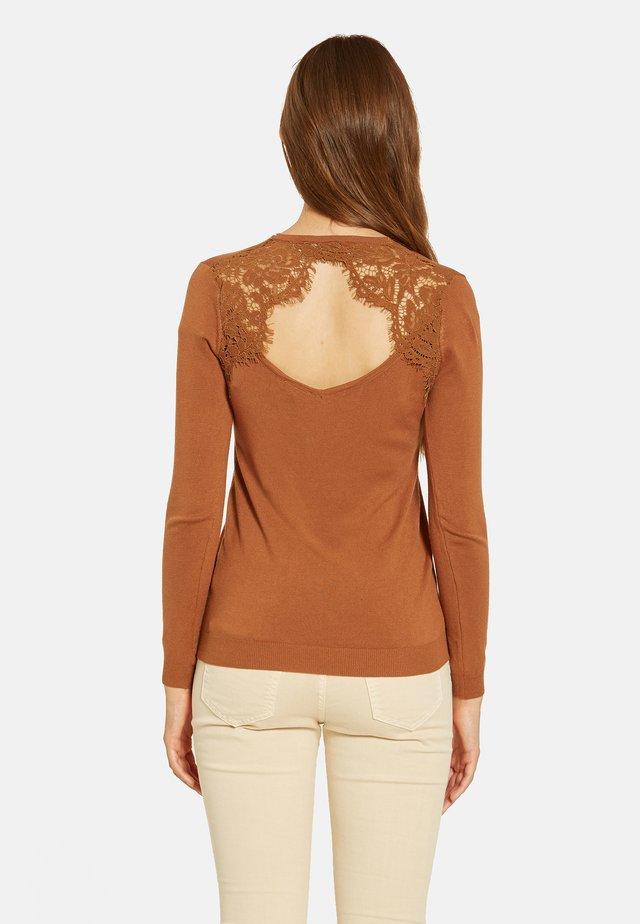 Jersey de punto - marrone