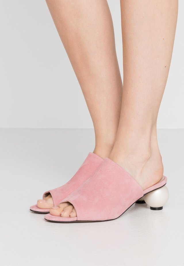 MAEVE - Pantolette hoch - siena pink