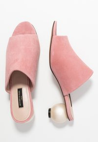Mother of Pearl - MAEVE - Heeled mules - siena pink - 3