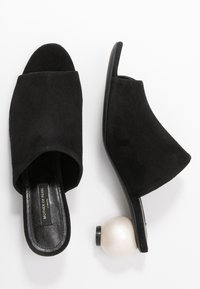 Mother of Pearl - MAEVE - Heeled mules - black - 3