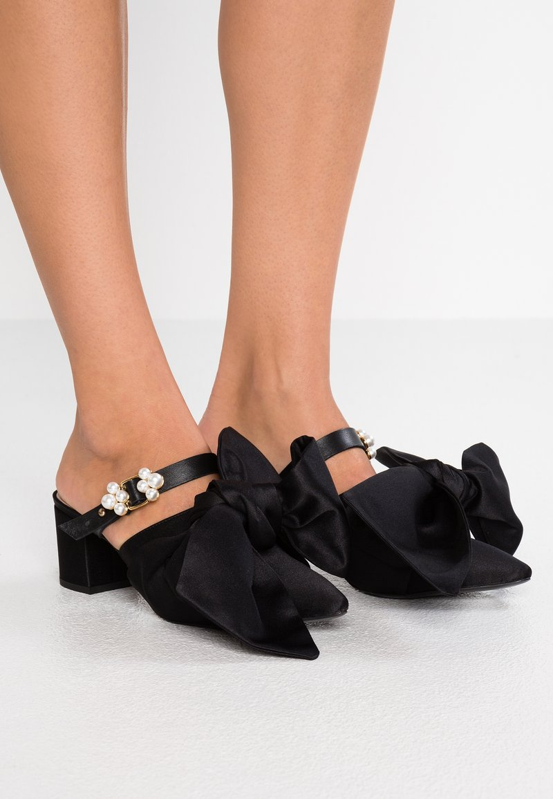 Mother of Pearl - IVY - Heeled mules - black