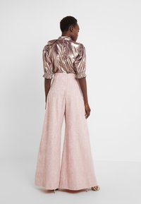 Mother of Pearl - PLEATED FRONT TAILORED TROUSER - Bukser - pink - 2