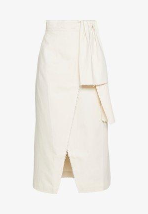 ANNA - Pencil skirt - ecru