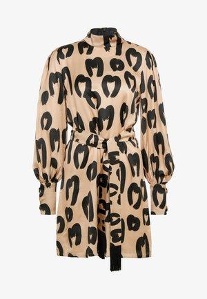 JOHANNA - Koktejlové šaty/ šaty na párty - beige/black