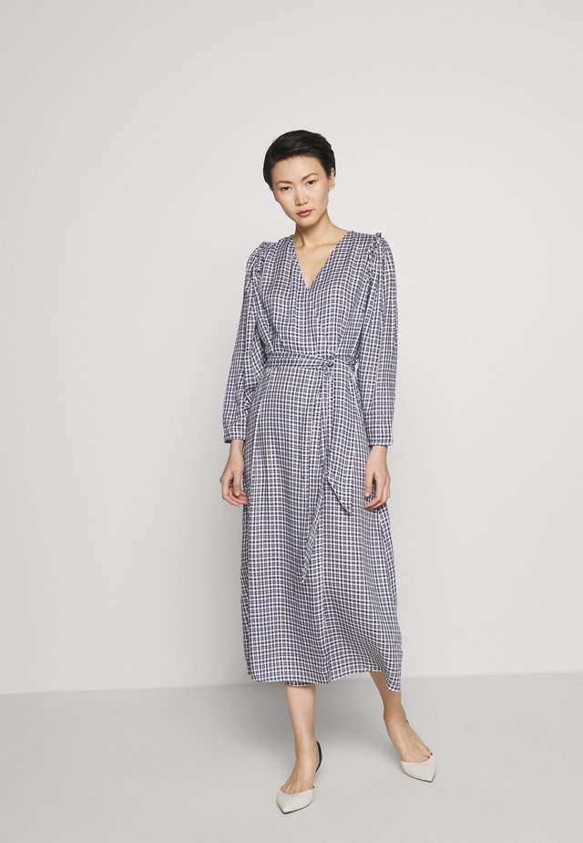 GABBY - Maxikleid - navy/white