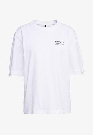 CHARLIE - Print T-shirt - white