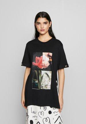 MINTIE - T-shirt imprimé - black