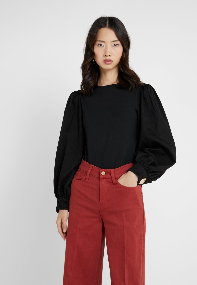 Mother of Pearl - WINIFRED - Langærmede T-shirts - black