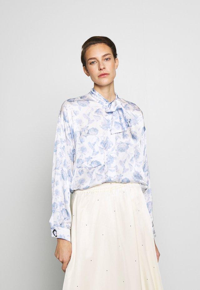 ELAINE - Hemdbluse - blue