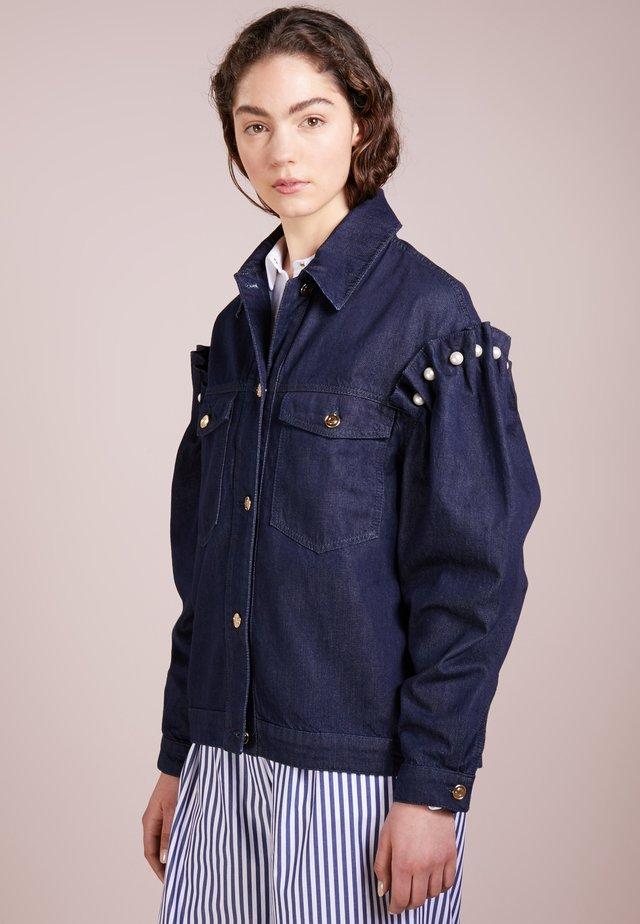 BRENNON JACKET - Jeansjakke - blue