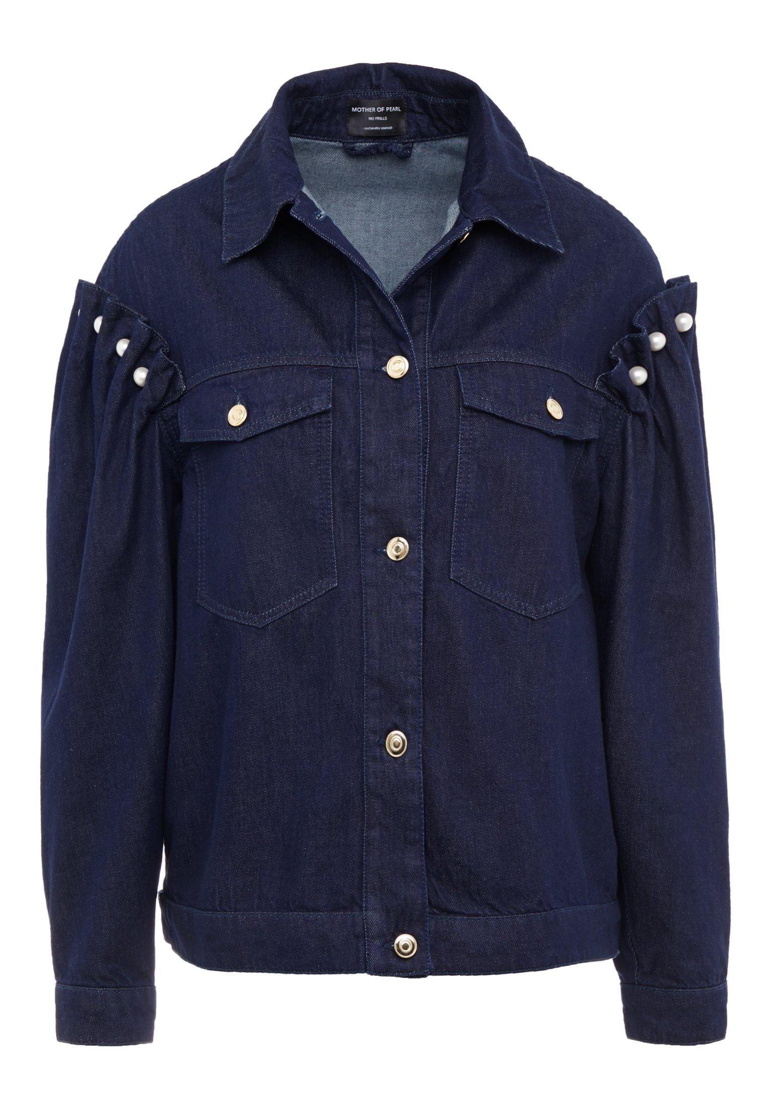 Mother Of Pearl Brennon Jacket - Spijkerjas Blue wkjw8Kpa
