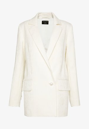 MADDOX - Short coat - ivory