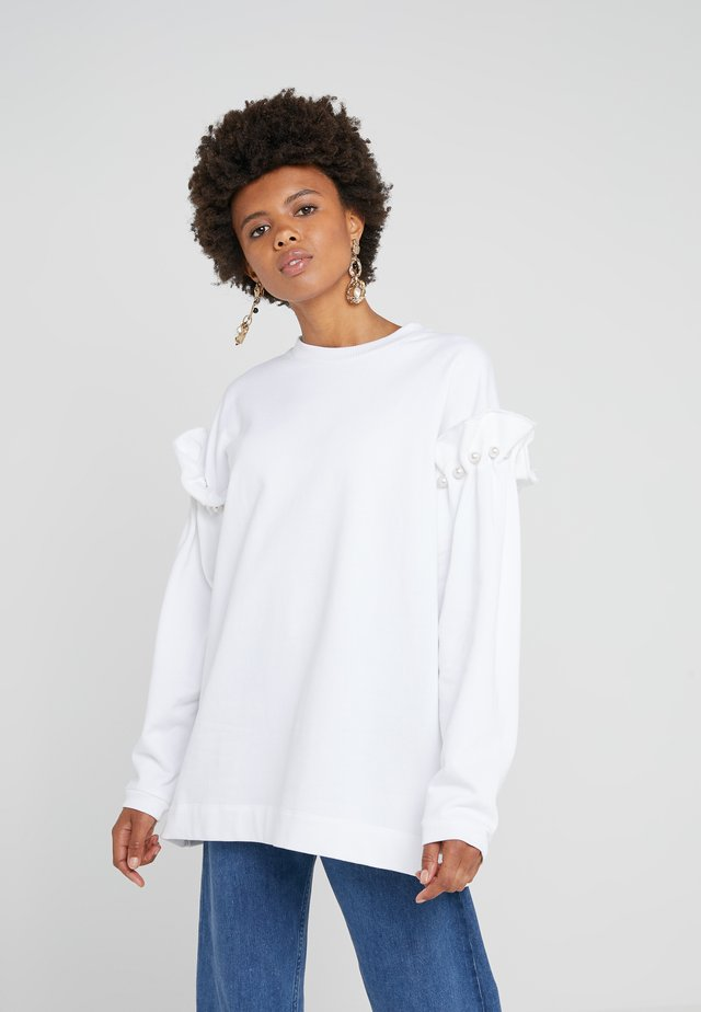 DARBY - Sweatshirt - white