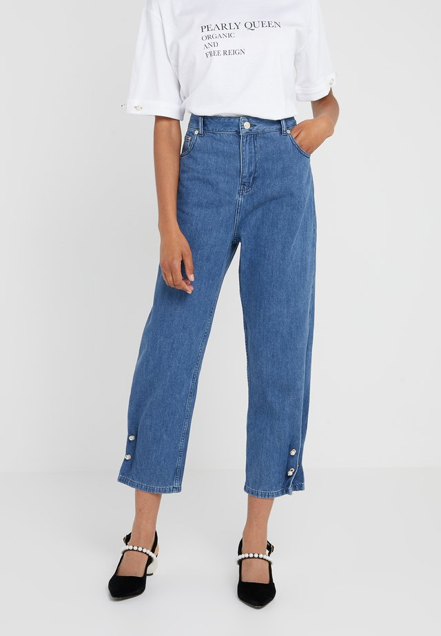 KYRA - Jeans Relaxed Fit - stone wash